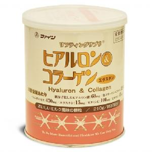 Picture of Japanese Hyaluron & Collagen Powder 210g by FINE